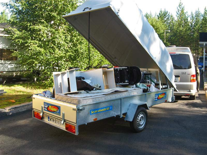 Perävaunujen vuokraus | Kaartax Avoin yhtiö