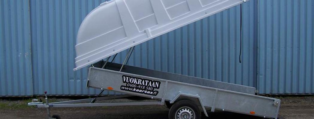 Vuokrattava kuomukärry 750kg | Kaartax